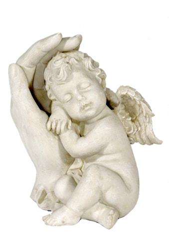 Casa Collection by Jänig Engelfigur »Schlafender Engel an linker Hand lehnend, H 13 cm« kaufen