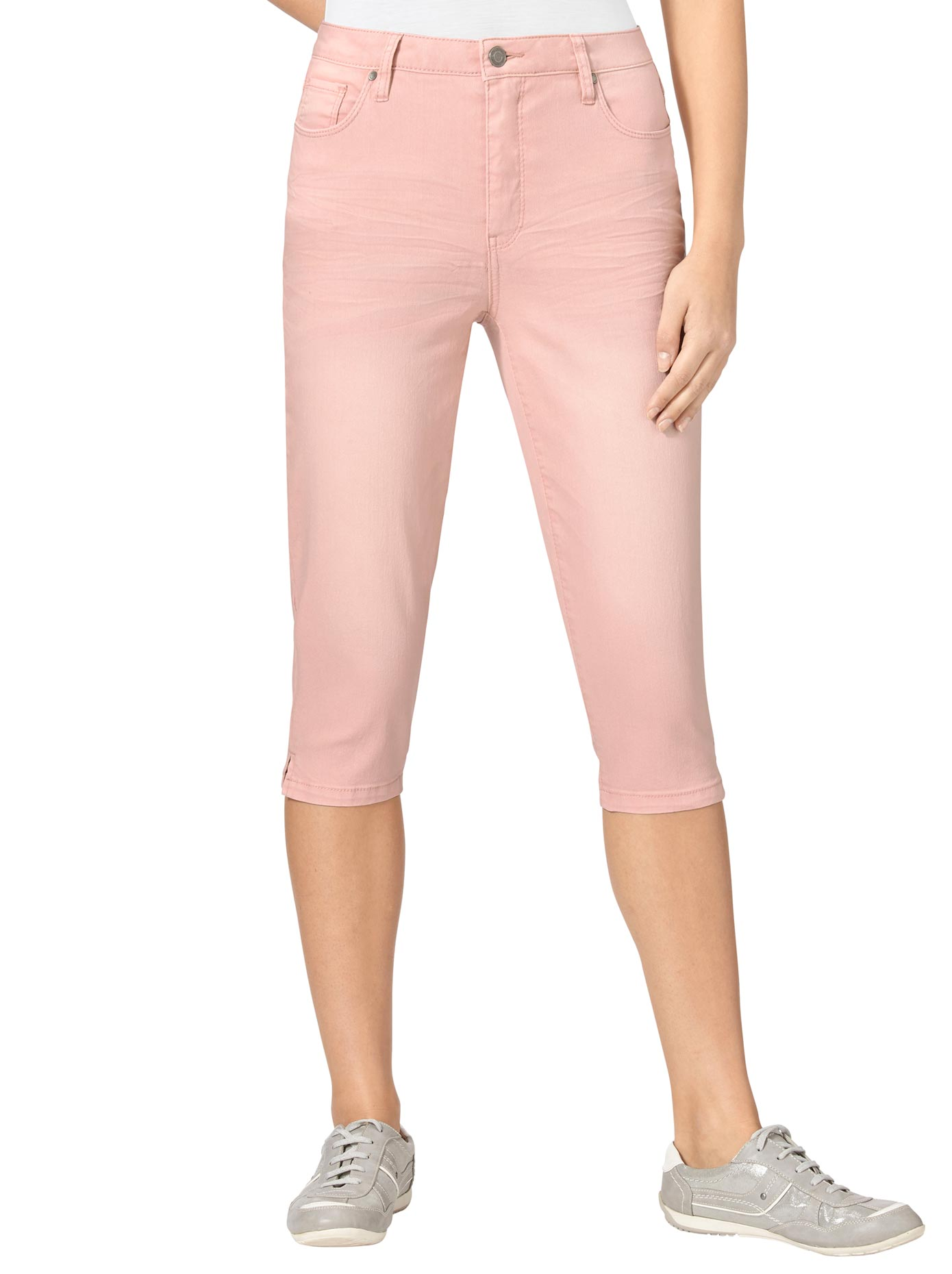 Image of Casual Looks Capri-Jeans in 5-Pocket-Form