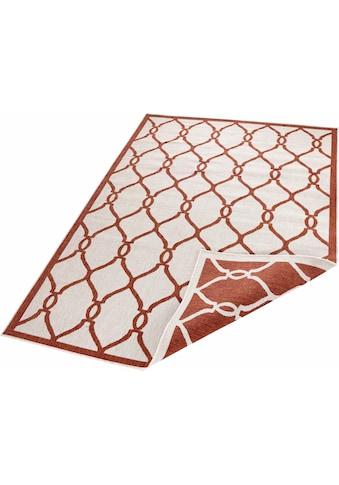 bougari Teppich »Rimini«, rechteckig, 5 mm Höhe, In- und Outdoor geeignet, Wendeteppich, Wohnzimmer kaufen