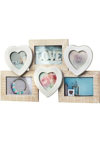 Home affaire Bilderrahmen »Bilderrahmencollage »Heart«« kaufen