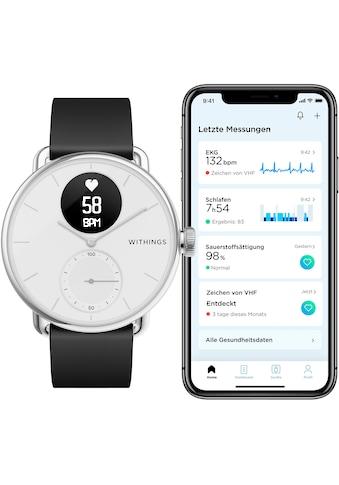 Withings Smartwatch »ScanWatch, 38mm«, ( Proprietär ) kaufen