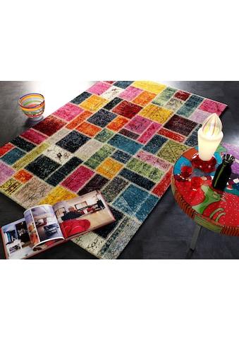 OCI DIE TEPPICHMARKE Teppich »Happiness Random«, rechteckig, 20 mm Höhe, Wohnzimmer kaufen