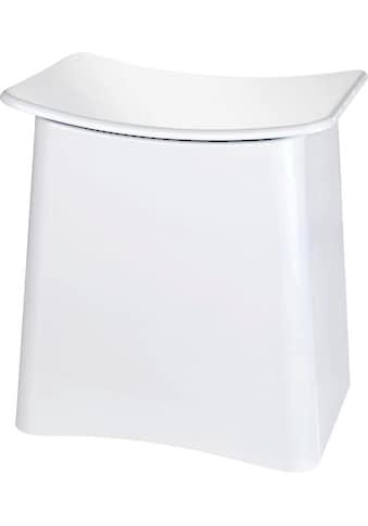 WENKO Badhocker »Wing«, mit herausnehmbarem Wäschesack kaufen