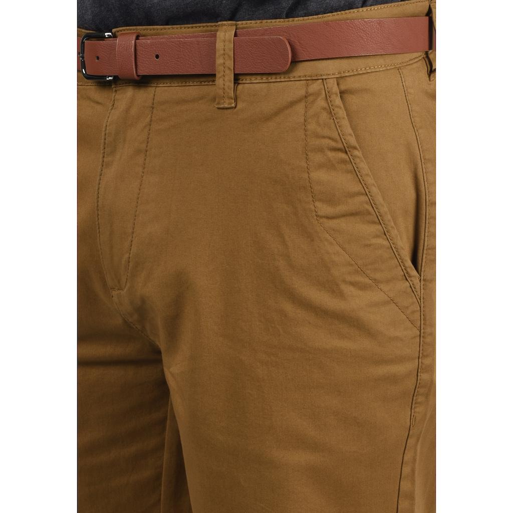 Solid Chinoshorts »Montijo«, (mit abnehmbarem Gürtel), kurze Hose mit Gürtel