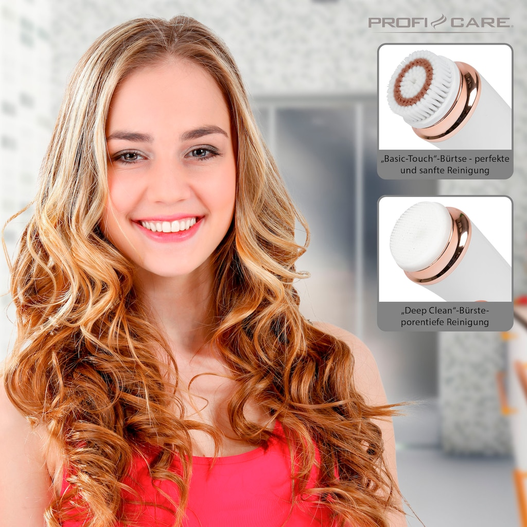 ProfiCare Elektrische Gesichtsreinigungsbürste »PC-GRB 3081«