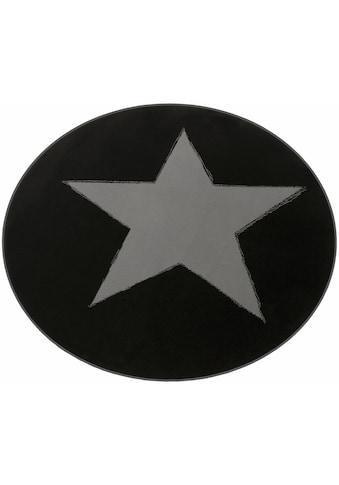 Teppich, »Stern«, HANSE Home, rund, Höhe 9 mm, maschinell gewebt kaufen