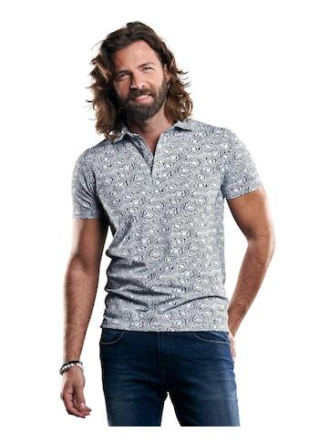 emilio adani Poloshirt aus Piquégewebe und Haifischkragen kaufen