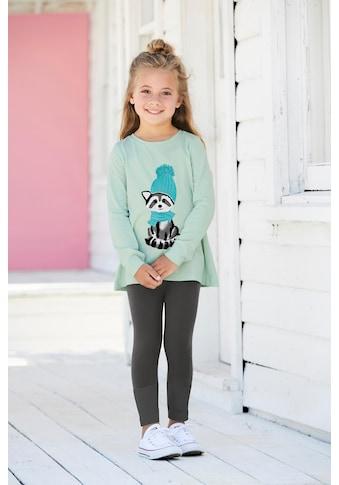 KIDSWORLD Shirt & Leggings »Waschbär« (Set, 2 tlg.) kaufen