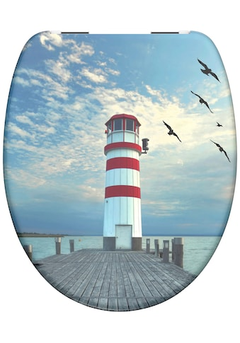 Schütte WC-Sitz »Lighthouse«, aus Duroplast mit Absenkautomatik kaufen