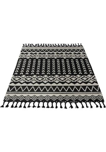 Guido Maria Kretschmer Home&Living Teppich »Peru«, rechteckig, 6 mm Höhe, Wollteppich,... kaufen