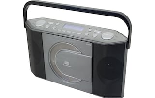 dab radio soundmaster rcd1770an schwarz silberfarben. Black Bedroom Furniture Sets. Home Design Ideas
