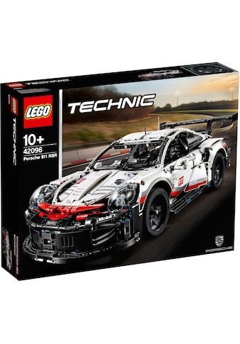 LEGO® Konstruktionsspielsteine »Porsche 911 RSR (42096), LEGO® Technic«, (1580 St.), Made in Europe kaufen
