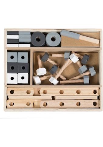 roba® Holzbaukasten Holz, (48 - tlg.) kaufen