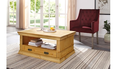 Home affaire Couchtisch »Vinales«, Breite 100 cm, mit 1 Schublade kaufen