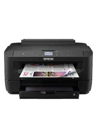 Epson Tintenstrahldrucker »WorkForce WF-7210DTW« kaufen
