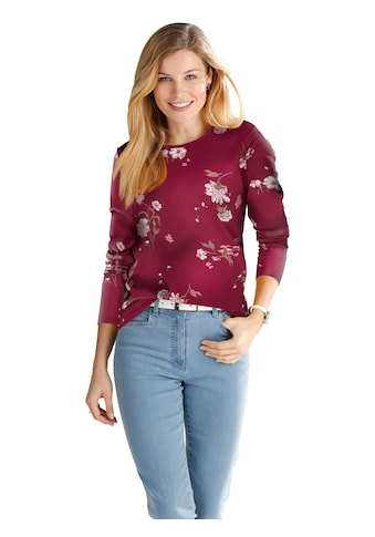 Shirt in verspielten Blümchen - Dessins kaufen