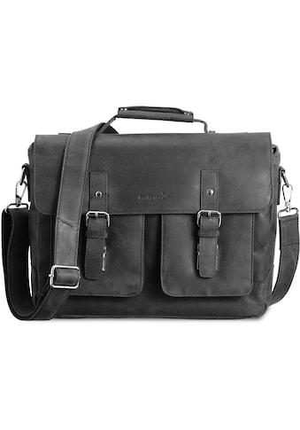 Packenger Umhängetasche »Kolbjorn, schwarz«, mit 14-Zoll Laptopfach kaufen