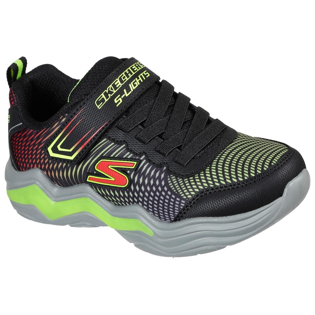 Skechers Kids Sneaker »Blinkschuh ERUPTERS IV«, mit blinkender Sohle