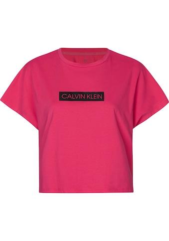 Calvin Klein Performance Rundhalsshirt »SHORT SLEEVE T - SHIRT« kaufen