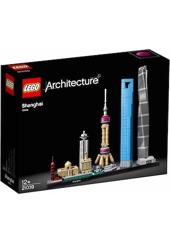 """LEGO® Konstruktionsspielsteine """"Shanghai (21039), LEGO® Architecture"""", Kunststoff, (597 - tlg.) acheter"""