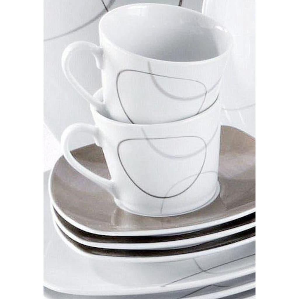 Ritzenhoff & Breker Kaffeeservice »Alina«, (Set, 18 tlg.), Spülmaschinengeeignet