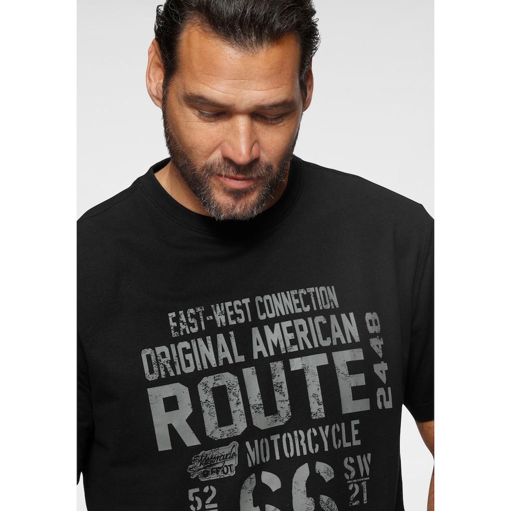 Man's World T-Shirt, Grosser Print