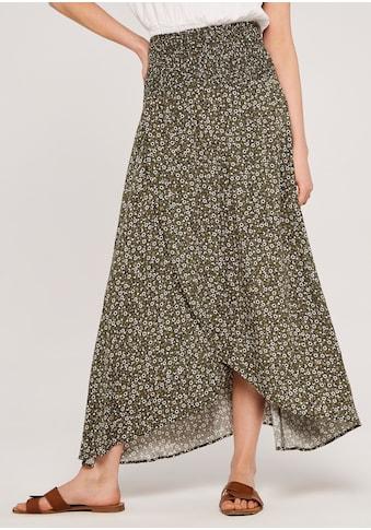 Apricot Maxirock »Ditsy Smock Waist Wrap Skirt«, mit Smokbund kaufen