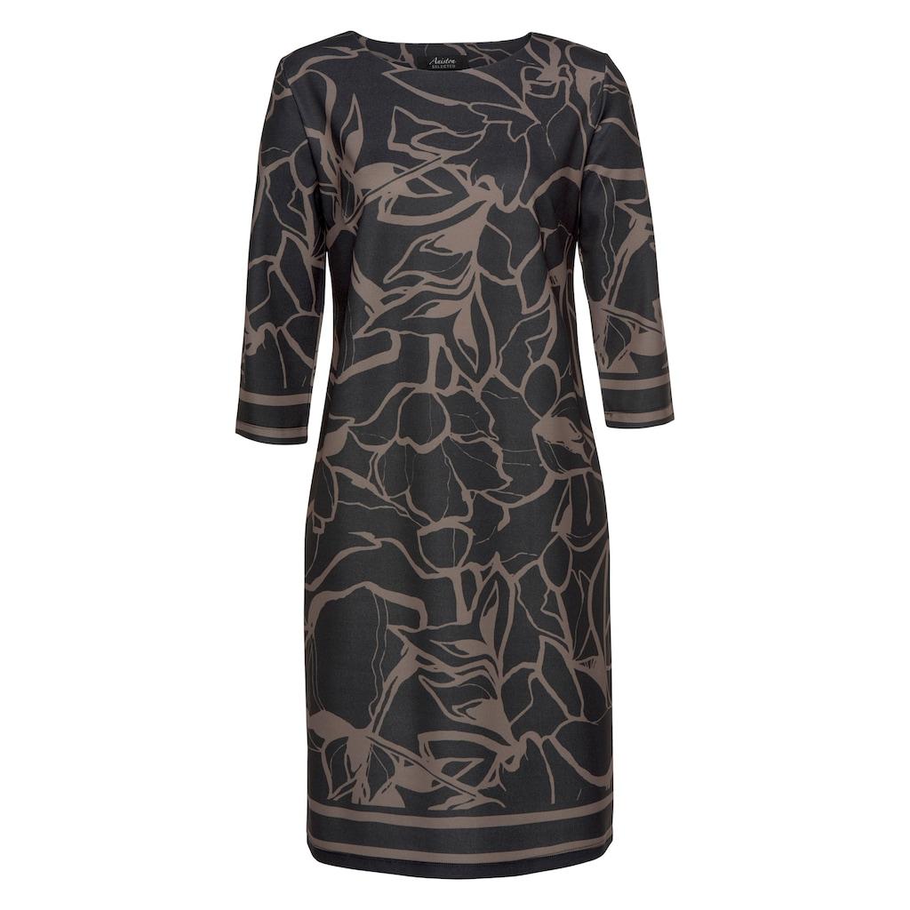 Aniston SELECTED Jerseykleid, im interessanten Allover-Print