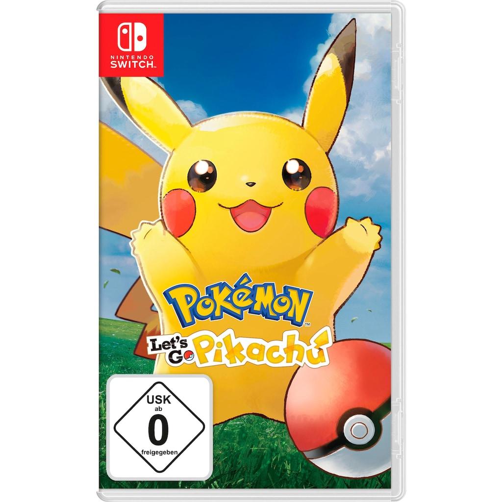 Nintendo Switch Spiel »Pokémon: Let's Go, Pikachu!«, Nintendo Switch