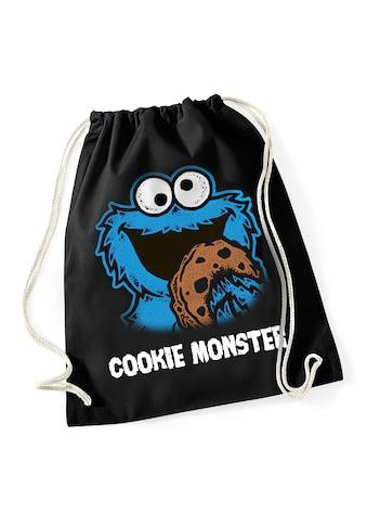 Sesamstrasse Turnbeutel »Sesamstrasse Cookie Monster Gym Bag« kaufen