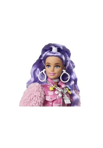 Barbie Spielfigur »Extra mit lila-wellige« kaufen