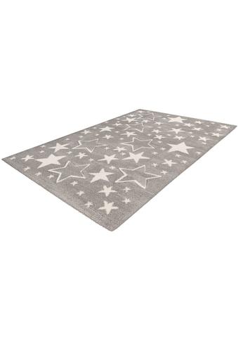 Arte Espina Kinderteppich »Amigo 529«, rechteckig, 15 mm Höhe, Sterne im Konturenschnitt kaufen