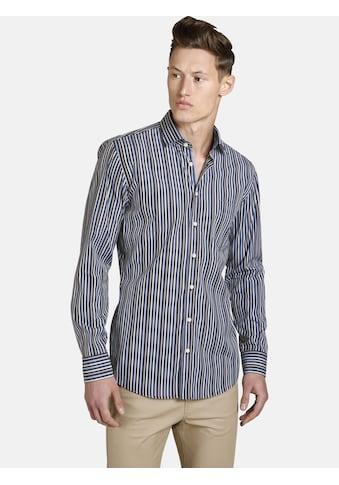 SHIRTMASTER Langarmhemd »twoplayful«, mit zwei Kontrasten kaufen