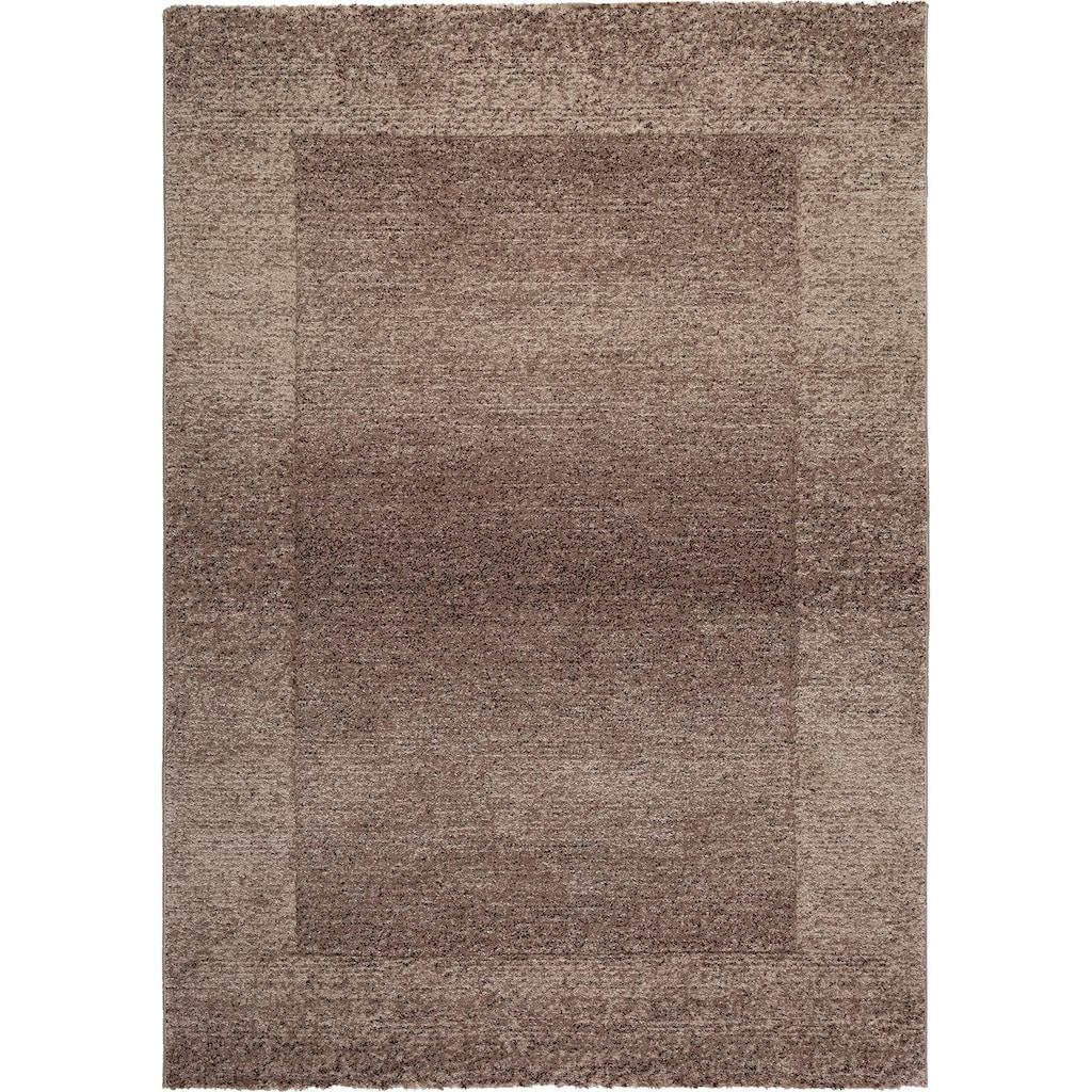Obsession Teppich »My Acapulco 685«, rechteckig, 21 mm Höhe, handgearbeiteter Konturenschnitt, mit Bordüre, Wohnzimmer