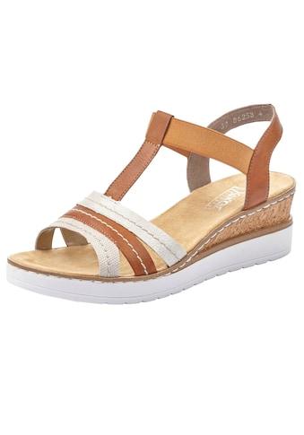 Rieker Sandalette, mit Kontrastnähten kaufen