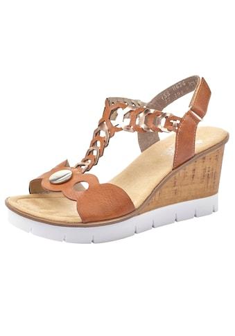 Rieker Sandalette, mit Metallic-Effekten kaufen