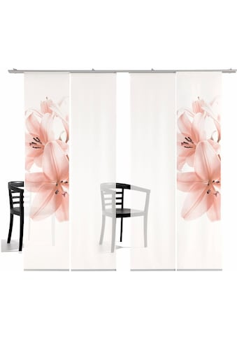 emotion textiles Schiebegardine »Lilie TR«, HxB: 260x60, inkl. Befestigungszubehör kaufen