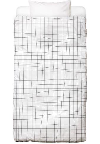 Bettwäsche »Grid«, Juniqe kaufen