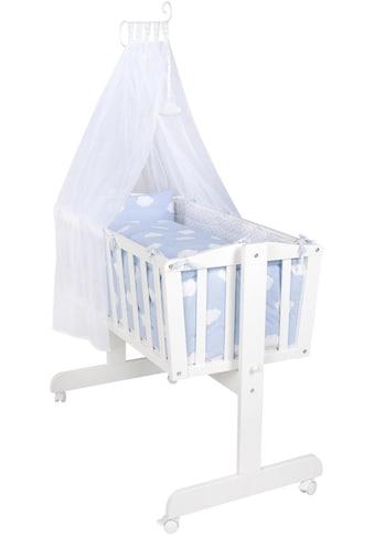 roba® Stubenbett, »Komplettwiege, Kleine Wolke blau« kaufen