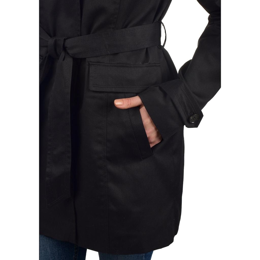Vero Moda Trenchcoat »Tracey«, Kurzmantel mit Reverskragen