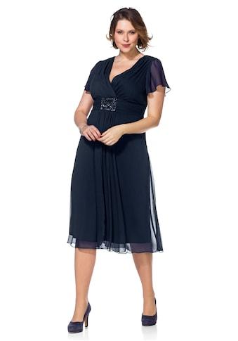 Sheego Abendkleid, mit Alloverdruck kaufen