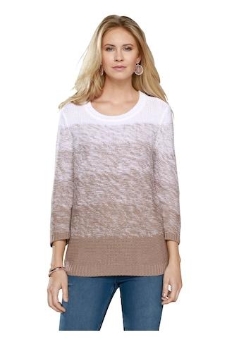 Classic Basics Pullover in heiss begehrtem Farbverlauf kaufen