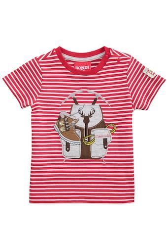 BONDI Trachtenshirt, mit Druckknöpfen an der Schulter kaufen
