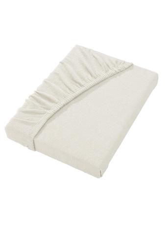 Biberna Frottee - Stretch - Spannbetttuch kaufen