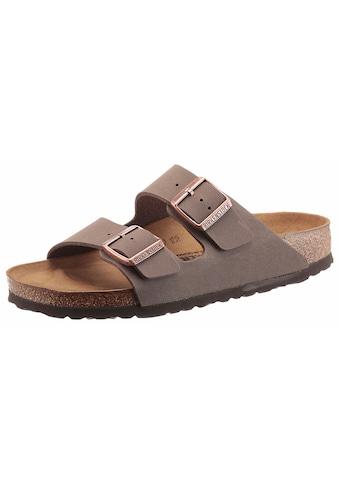 Birkenstock Pantolette »ARIZONA BF«, in Schuhweite schmal, mit ergonomisch geformten Fussbett kaufen
