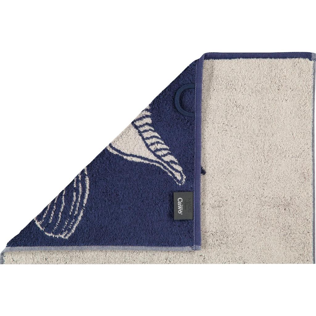 Cawö Strandtuch »Sea Muschel«, (1 St.), mit Muschel-Motiv