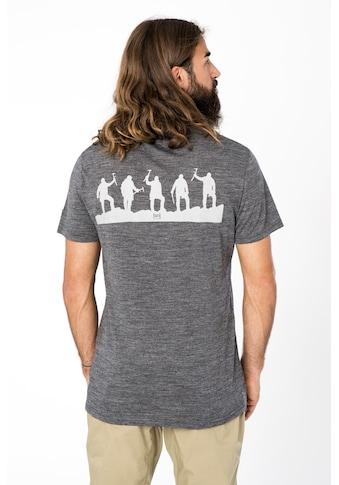 SUPER.NATURAL T-Shirt »M ALPINE MANDER TEE«, pflegeleichter Merino-Materialmix kaufen