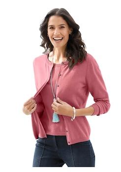 9eb934965903aa Classic Inspirationen Strickjacke aus weicher Pima Baumwolle kaufen