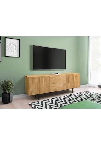 Premium collection by Home affaire Kommode »Scandi«, aus schönem massivem Eichenholz, mit einer praktischen Soft-Close-Funktion kaufen