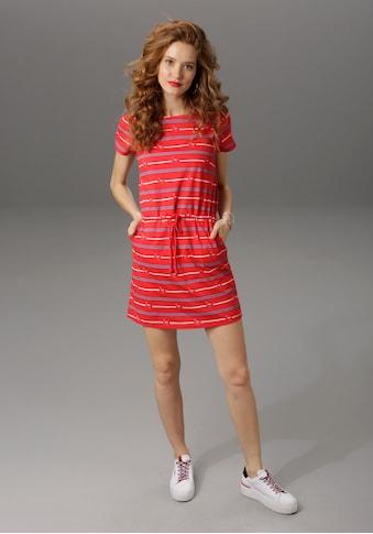 Aniston CASUAL Jerseykleid, mit Tunnelzug in der Taille kaufen